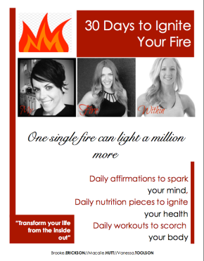 30 Days to Ignite Your Fire